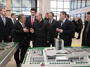 Путин в Казани 19.03.2013