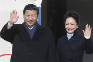 Лидер Китая и супруга