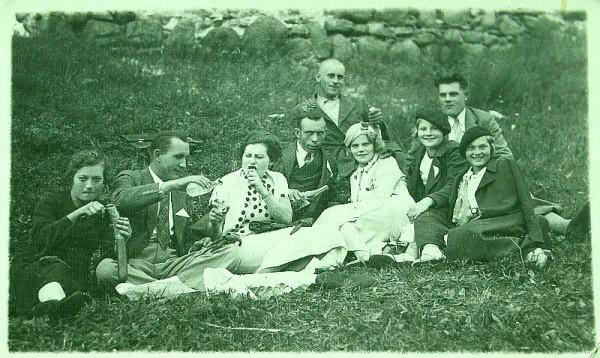 Пикник в Лайузе 9 08 1936