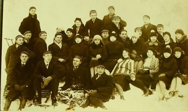 Гимназисты в Харидузе 1929