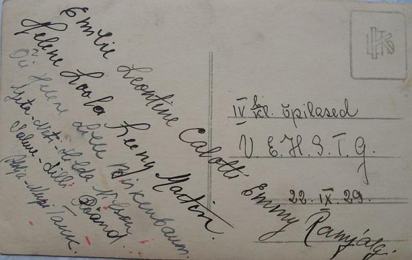 Автографы 1929 года, Эстония
