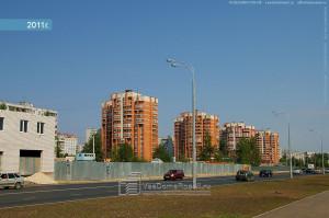 Вид на улицу Гаврилова
