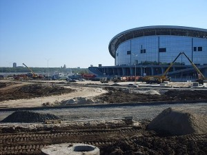 Стадион в Казани -3. 19 мая 13