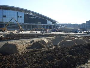 Стадион в Казани -4. 19 мая 13