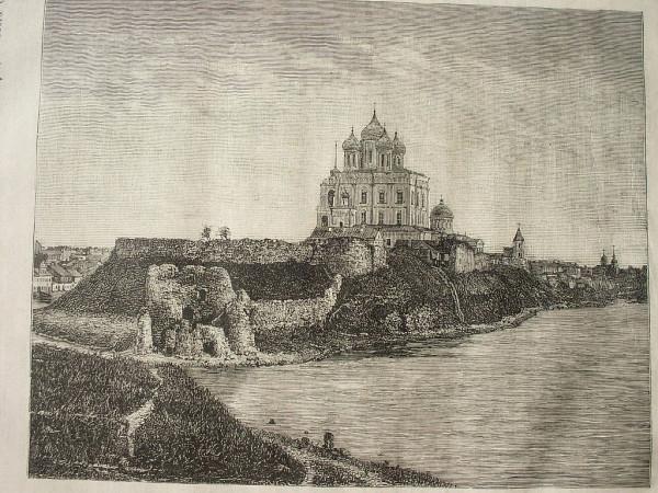 Вид на Детинец и собор