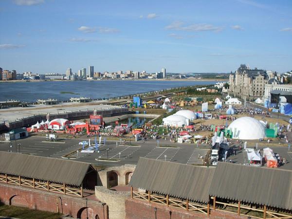 Вид на Парк от кремля