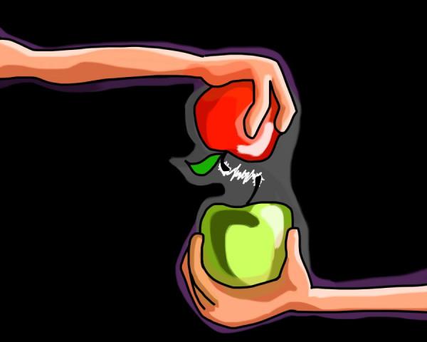 Два яблока от Фариды