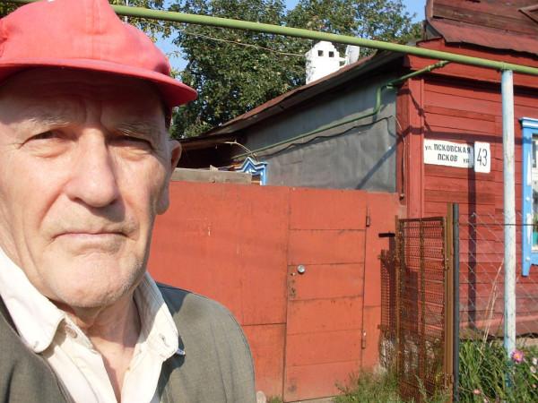 блогер Г-Егоров на улице Псковской Казань авг 2013