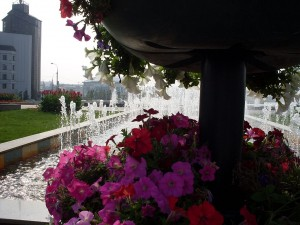 1 фонтаны