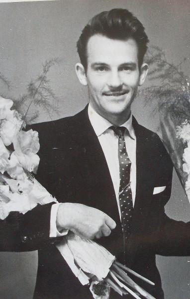 Егоров в день регист брака 1963