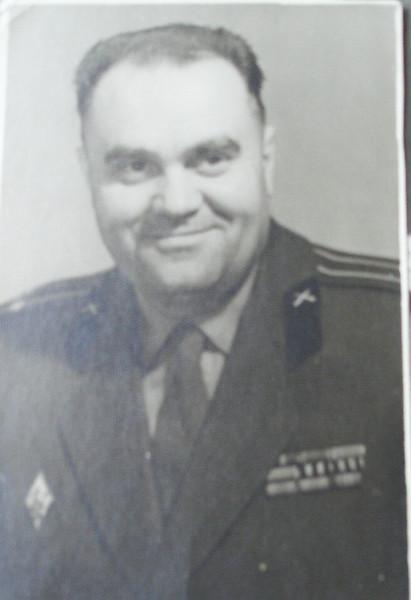 В.А.Пронин - подполковник