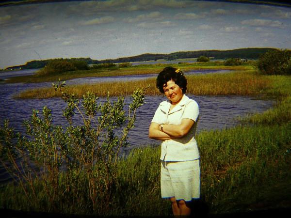 1976 на реке Сороть слайд 5