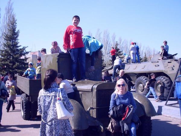 Фото 8   2014 У вечного огня в Казани