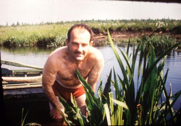 Июль 1977 у Жидилова Бора