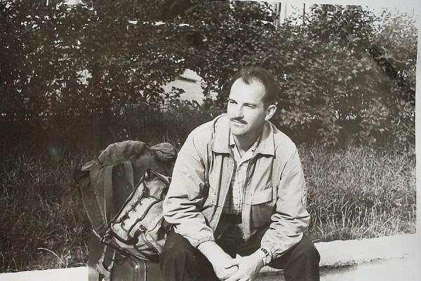 Егоров у вокзала 15 июля 1977