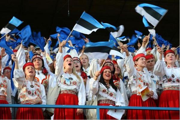 Праздник песни в Эстонии