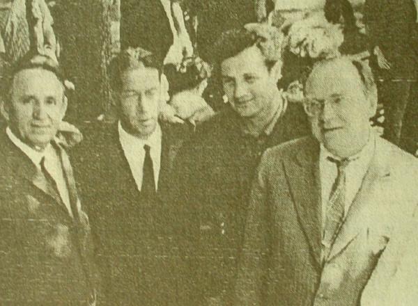 Боков в Михайловском 1967