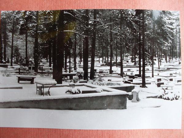 Voru kalmistu 11 talvel
