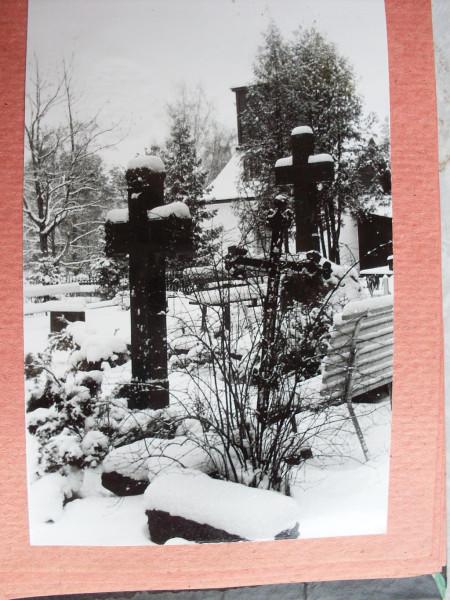 Voru kalmistu 1 talvel