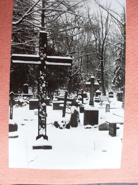 Voru kalmistu 2 talvel