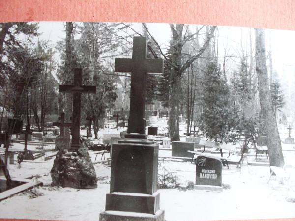 Voru kalmistu 5 talvel