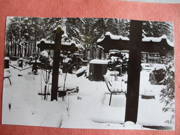 Voru kalmistu 6 talvel