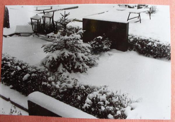 Voru kalmistu 10 talvel