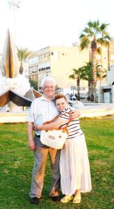М.И.Самойлович с супругой в Израиле