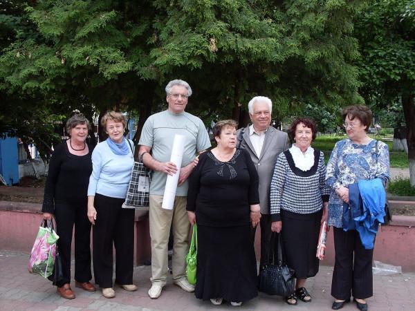М.И.Самойлович с однокурсниками в Н.Новгороде. Июнь 2010