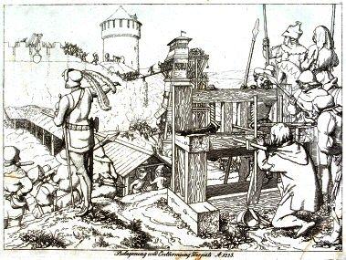 Тарту 1224 офорт