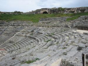 Сиракузы амфитеатр