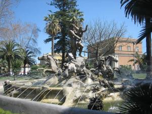 Катания фонтан