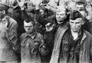 Пленные красноармейцы лета 1941