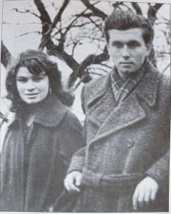 Ю.Адрианов и Г.Хлебникова. 1958