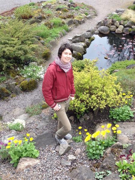 В Ботаническом саду ТУ