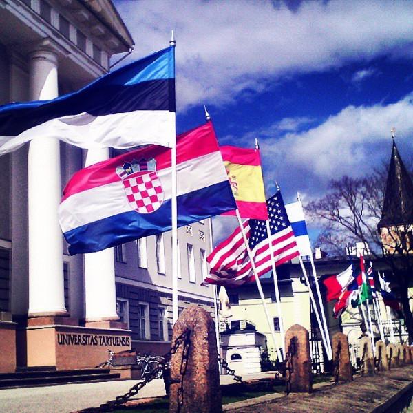 Флаги перед ТУ