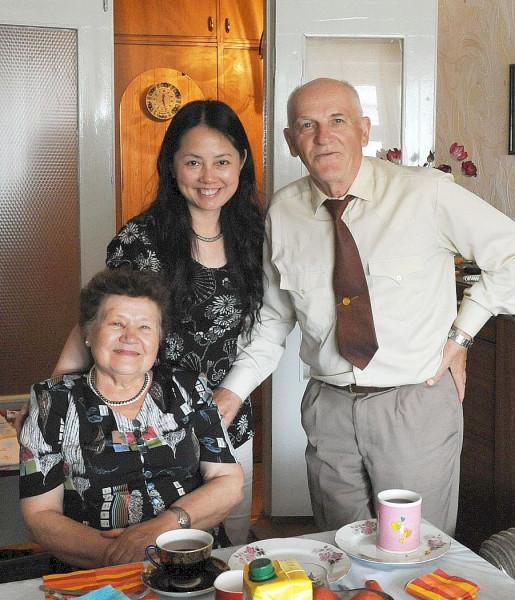 Мы с китаянкой Яной май 2010