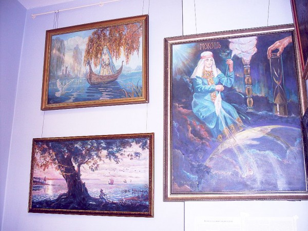 Картины Н.А. Генкиной в Казани 3 09 2015