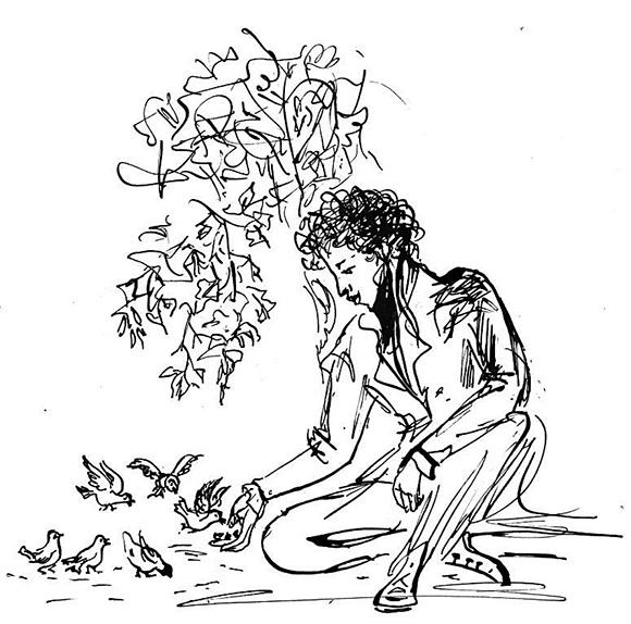 появление картинки из произведений пушкина карандашом хотел