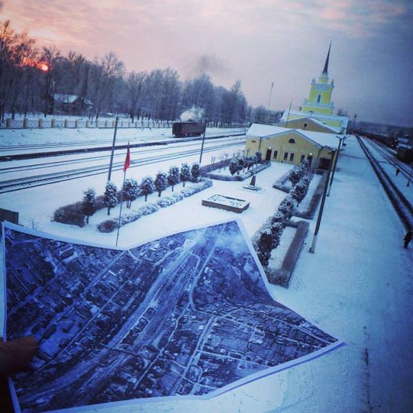станция Дно Псковской обл