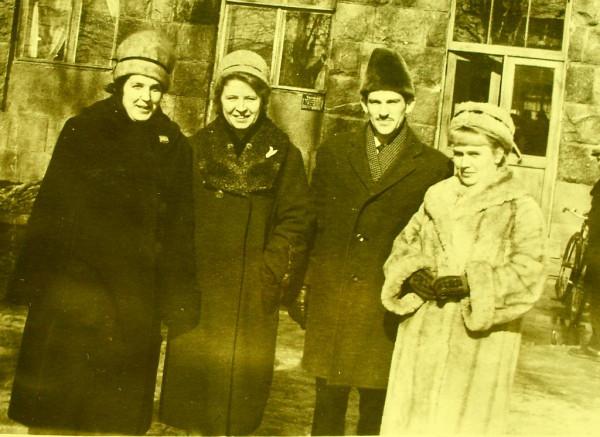 Псков март 1962