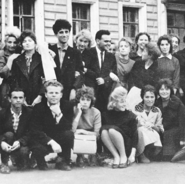 Филологи ГГУ выпуск 1962 фрагмент