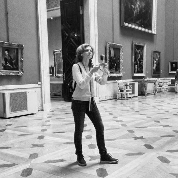 В музее СПб