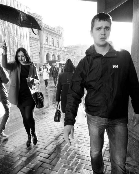 Под зонтиком СПб