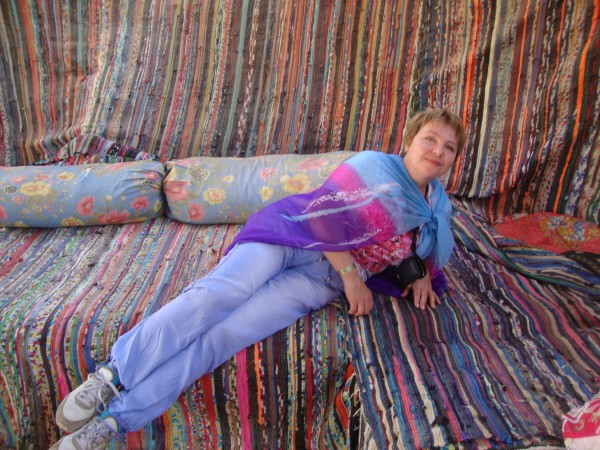 В бедуинском шатре