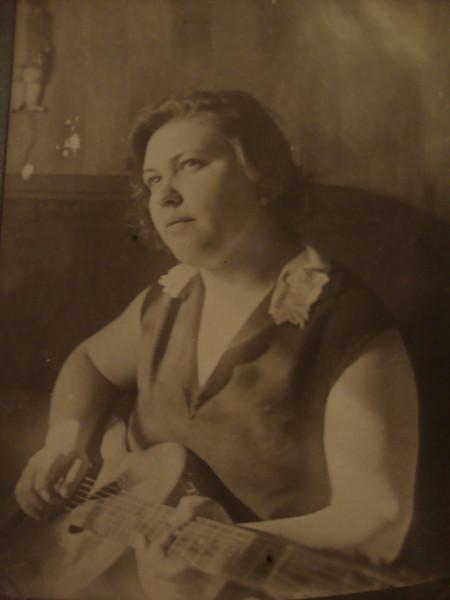 Бабушка Клавдия Михайловна