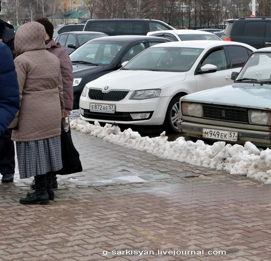 Пикет памяти Немцова Эшники