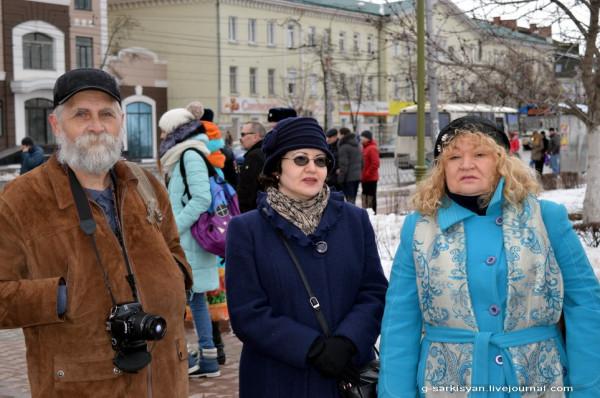 Пикет памяти Немцова Краюхин и Со.