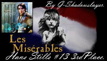 Tie 3rd Place - Challenge 13 - Les Miserables