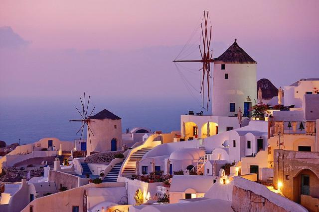 Санторини, о.Крит, Греция